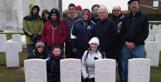 Canadians at James Peter Robertson VC